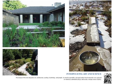 Artful Rain Garden Design
