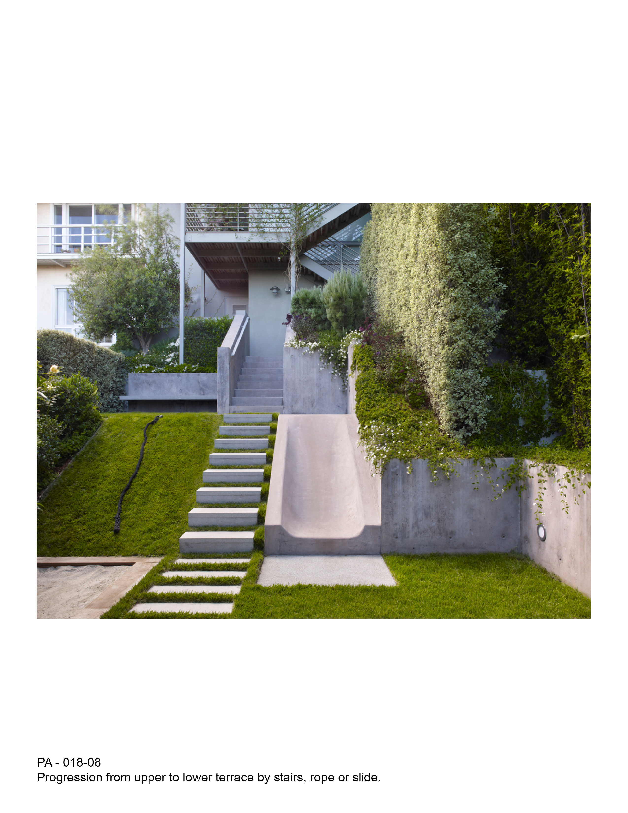 Download Hires Image With Garden Stairs Design