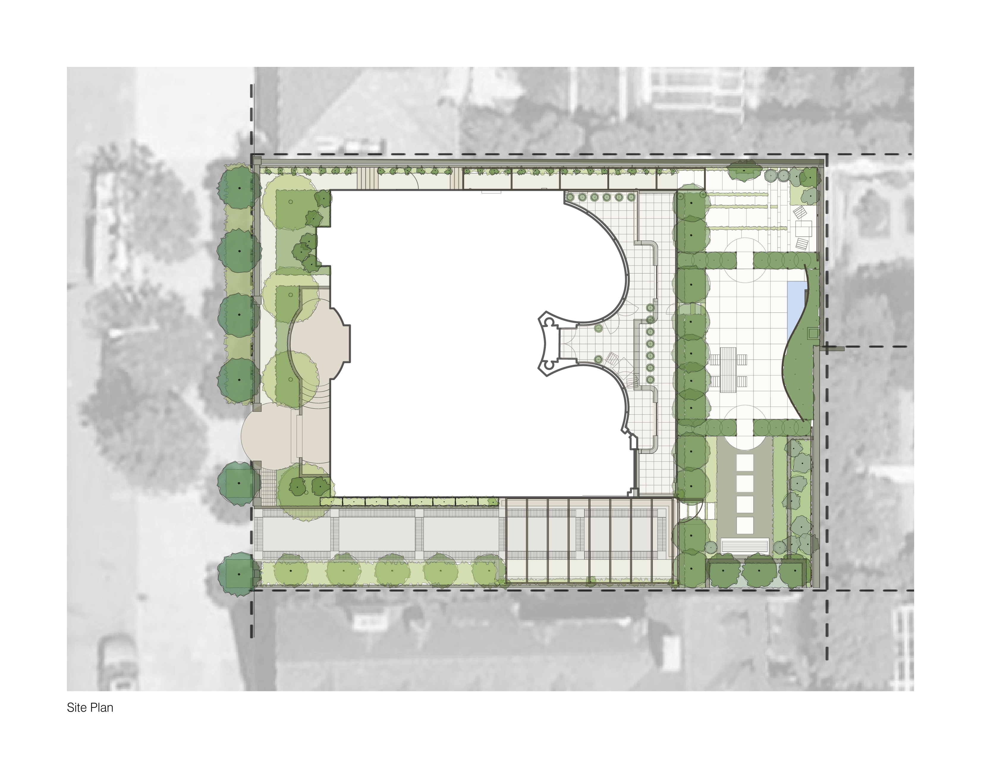 esherick house site plan submited images