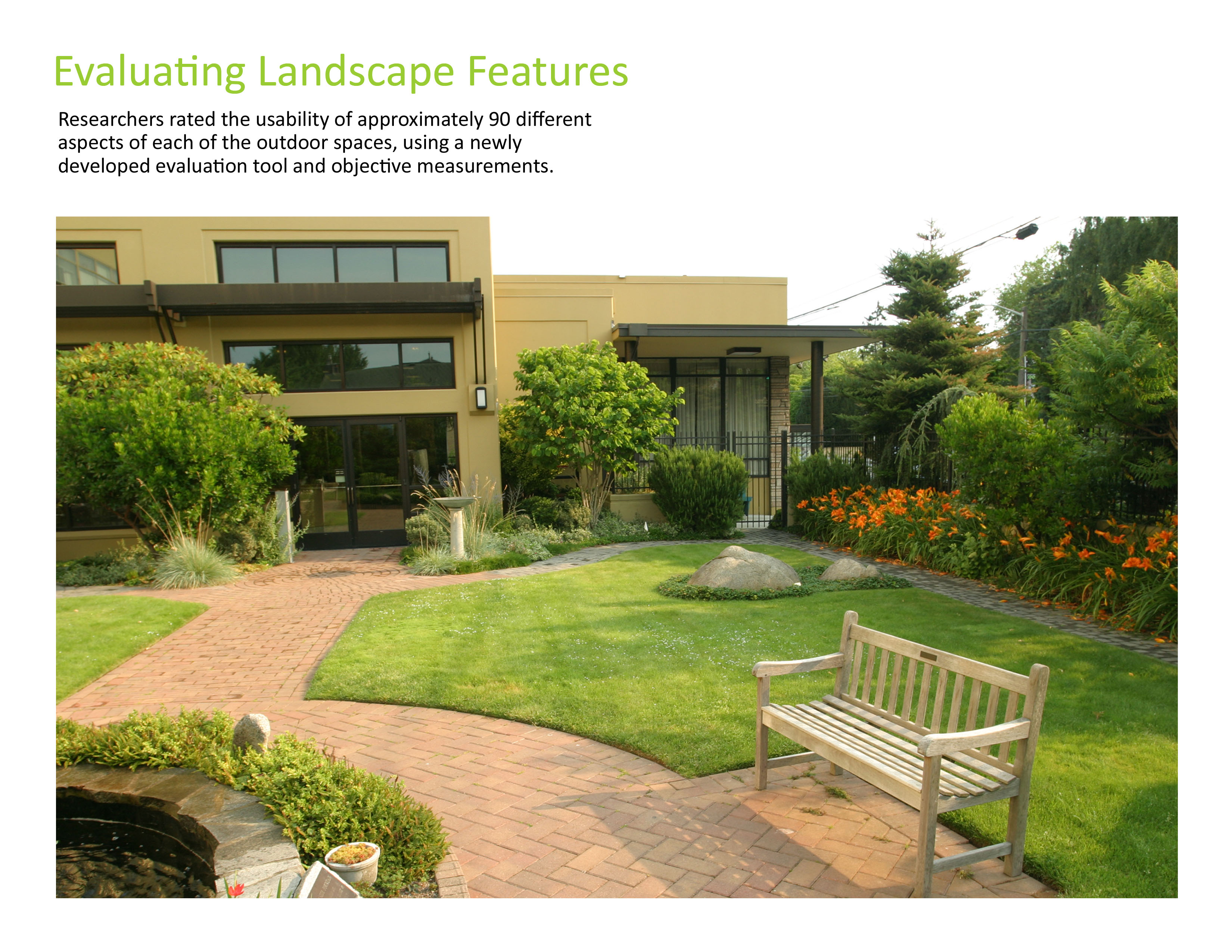 Asla 2010 professional awards access to nature for older for Outdoor spaces landscaping