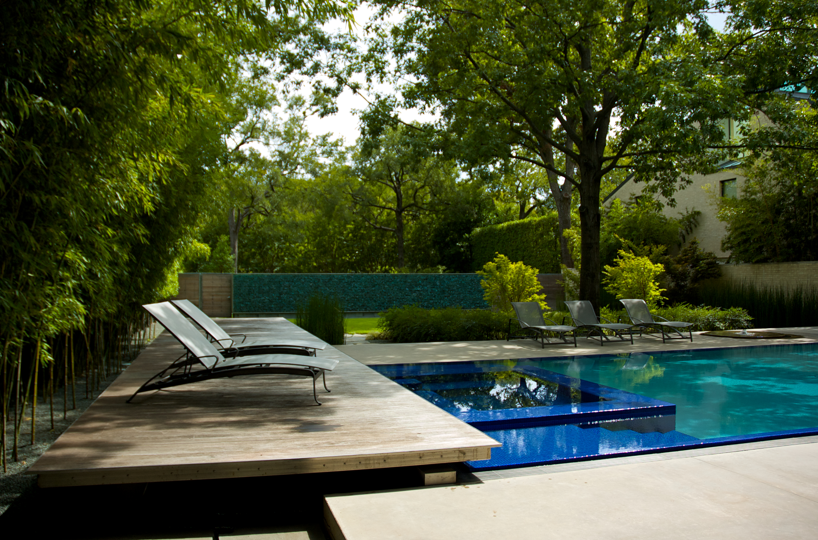 Asla 2010 professional awards the pool house for Home outdoor pool