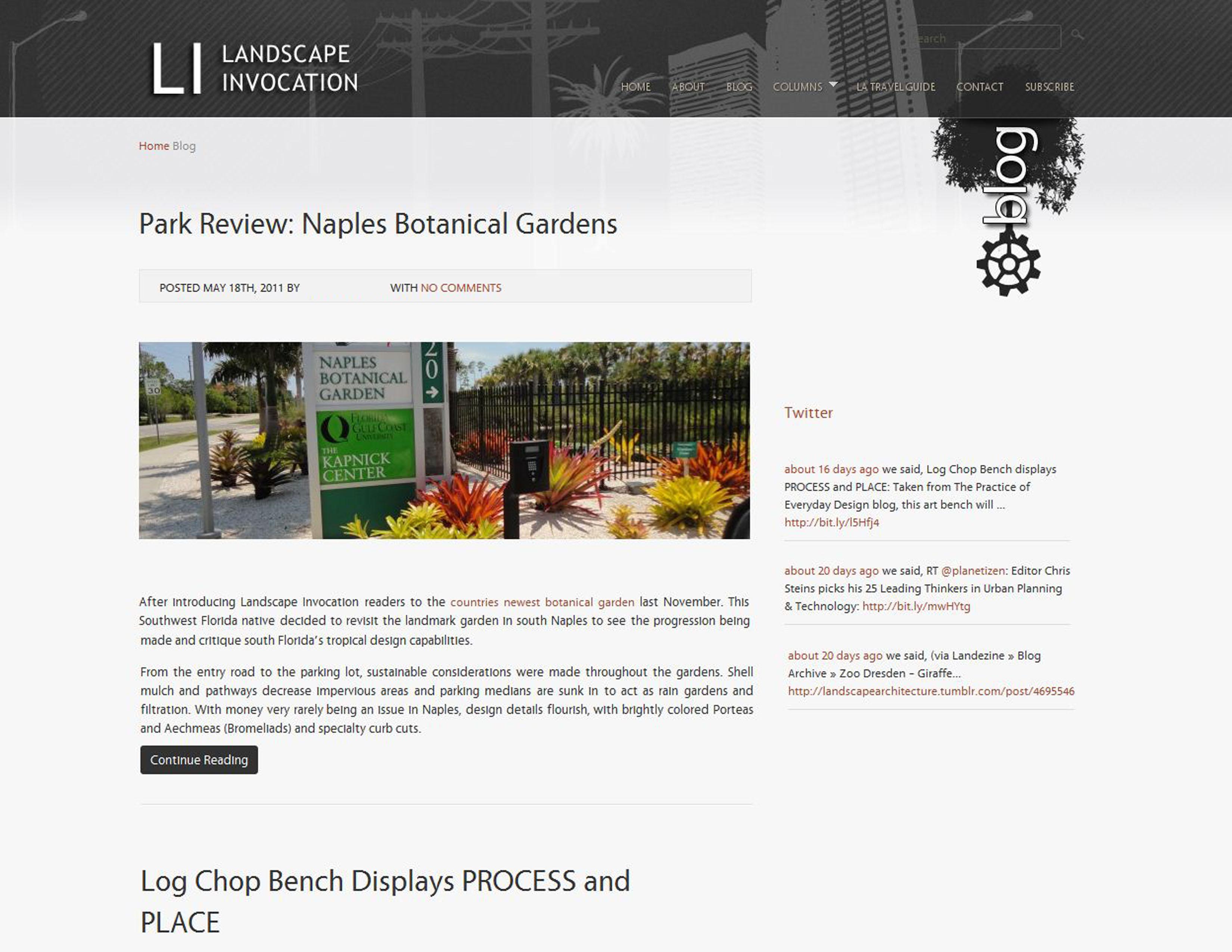ASLA 2011 Student Awards   Landscape Invocation