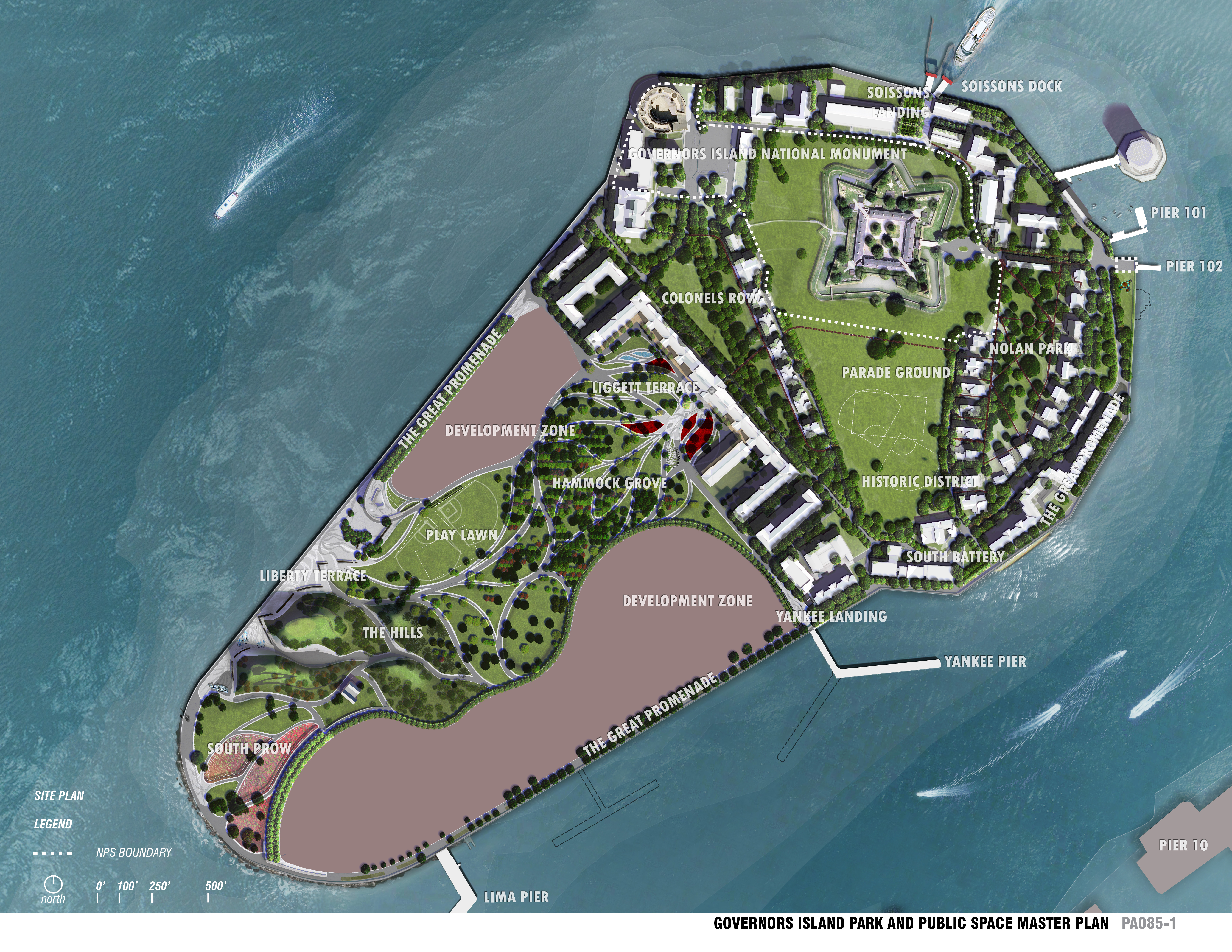 ASLA Professional Awards Governors Island Park And Public - Governors of new york