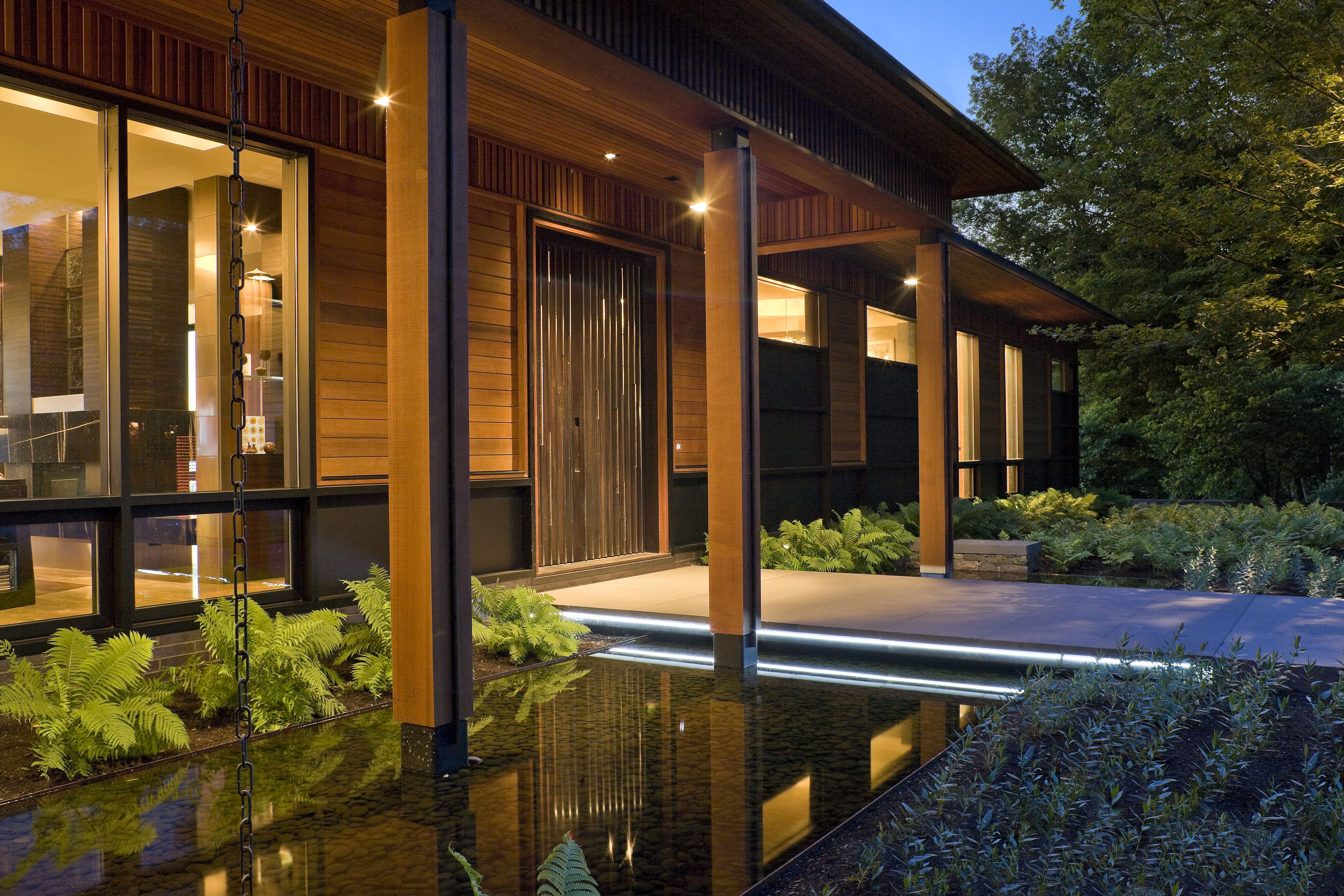 Download Hi-Res Image & ASLA 2012 Professional Awards | Quaker Smith Point Residence