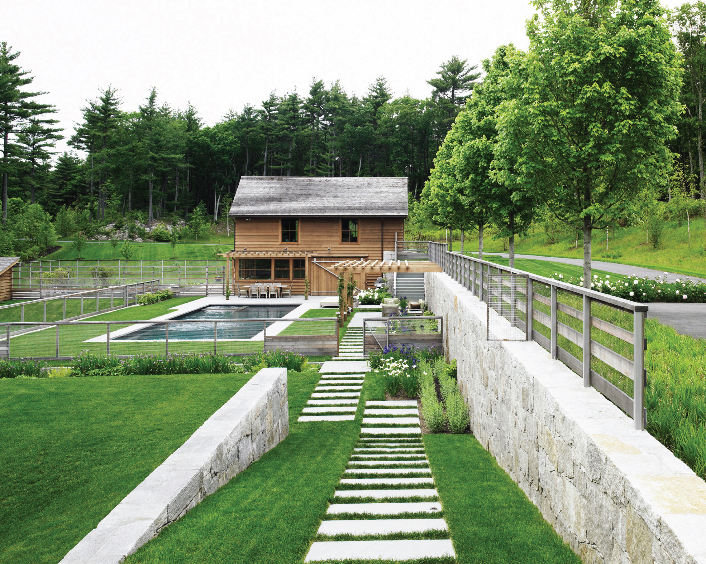 Terrace Kitchen Garden Asla 2012 Professional Awards Maple Hill Residence