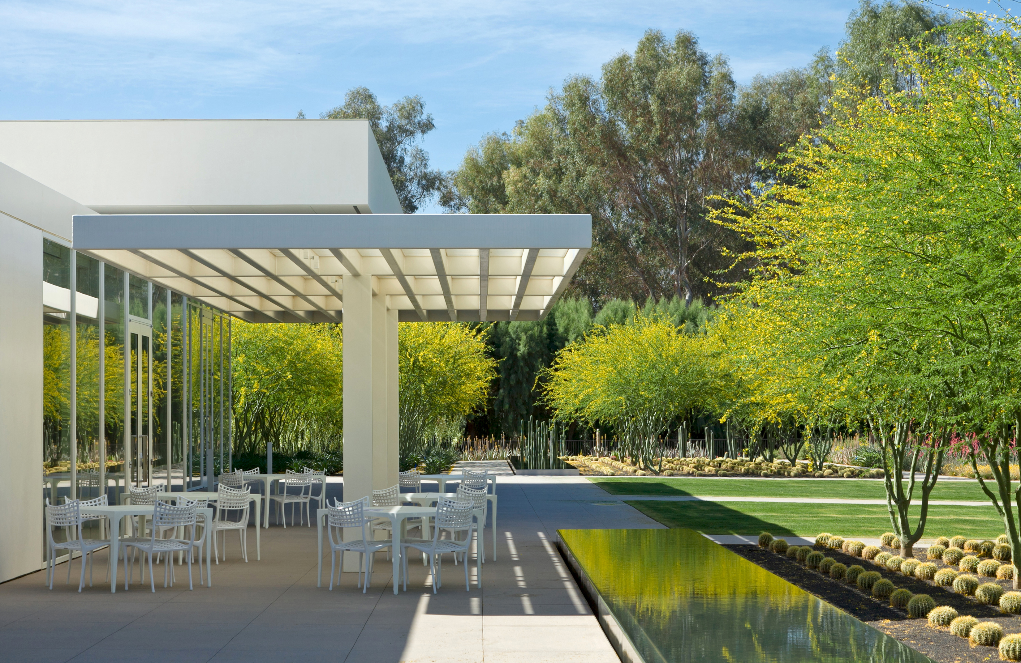 Asla 2012 professional awards sunnylands center gardens for Restaurants with a terrace