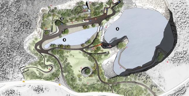 Quarry Garden Landscape Voice