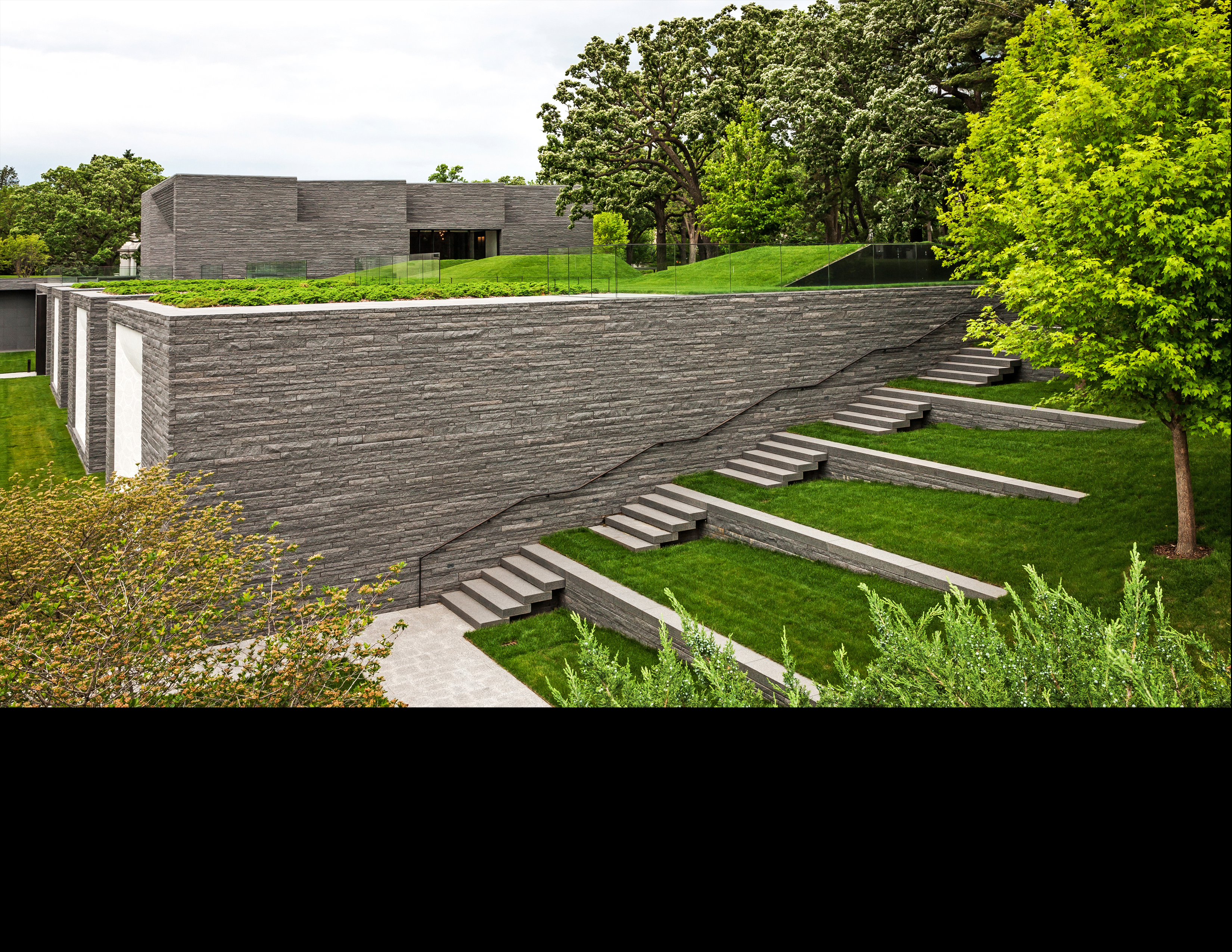Asla 2013 professional awards lakewood garden mausoleum for Terrace landscape design
