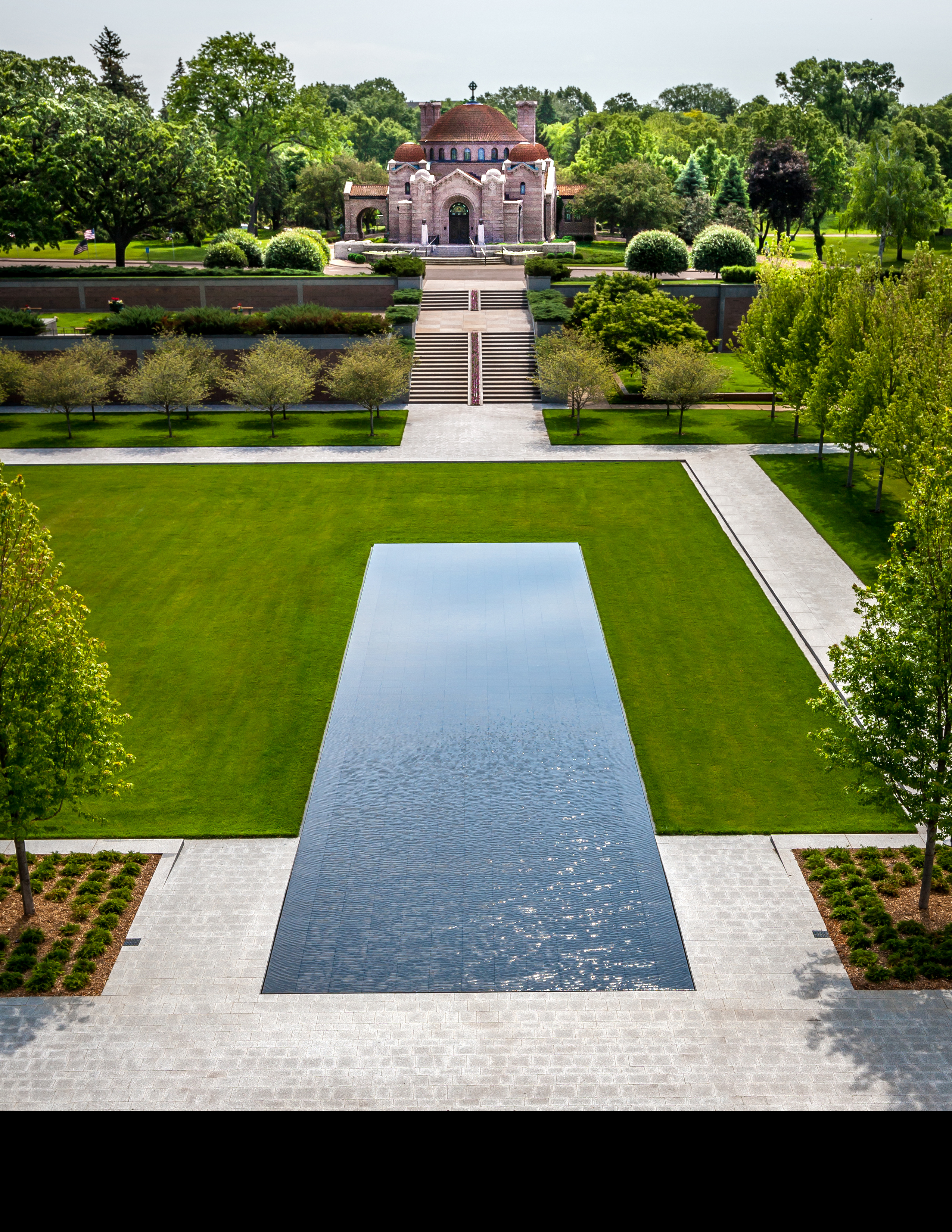 Asla 2013 professional awards lakewood garden mausoleum for Garden architecture