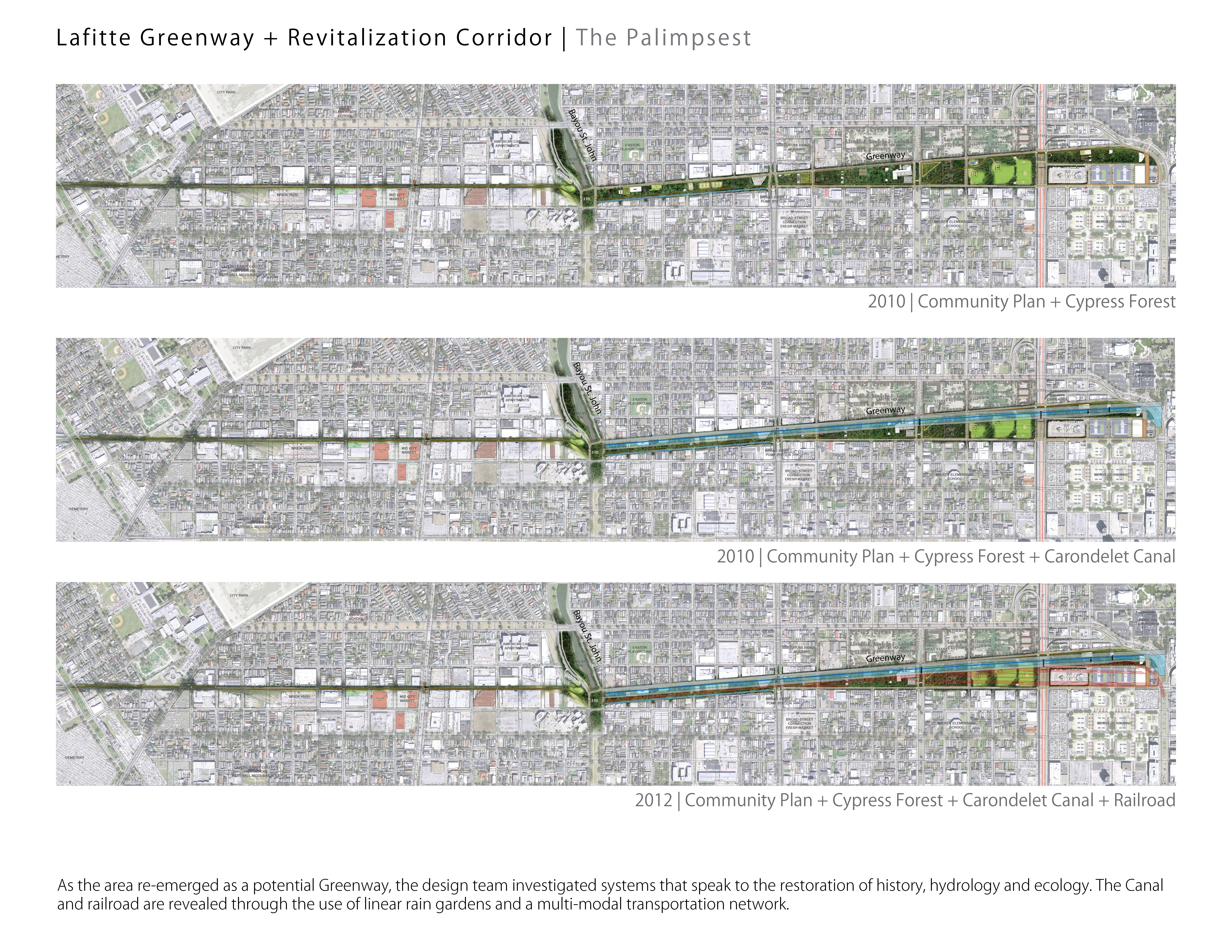 Lafitte Greenway Revitalization Corridor Linking New Orleans