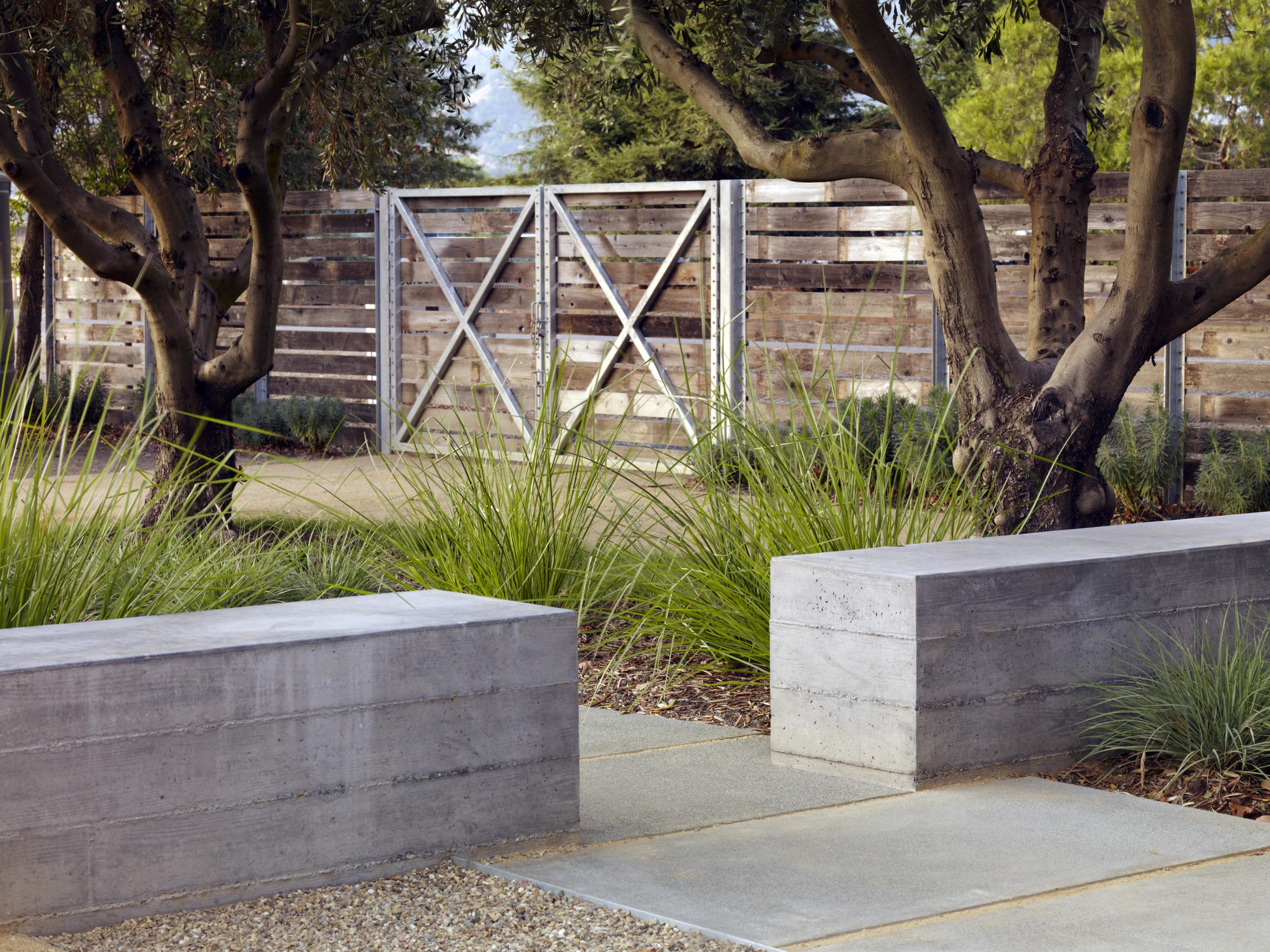 Asla 2013 professional awards medlock ames tasting room for Form garden architecture