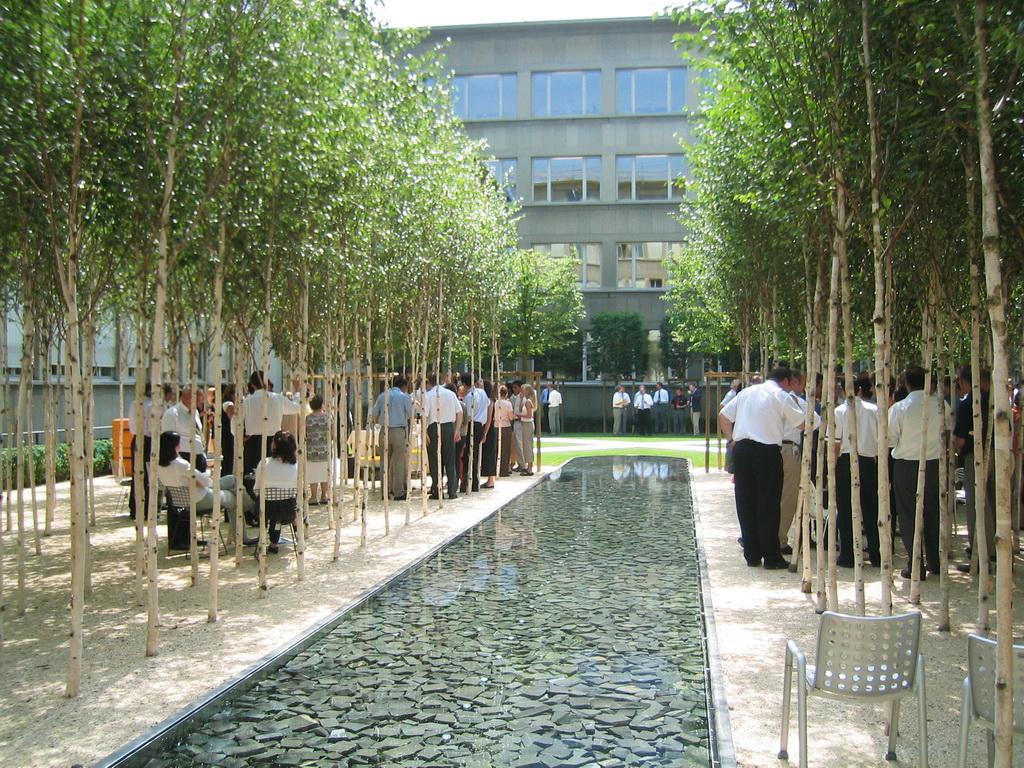 Asla 2013 Professional Awards Novartis Headquarters