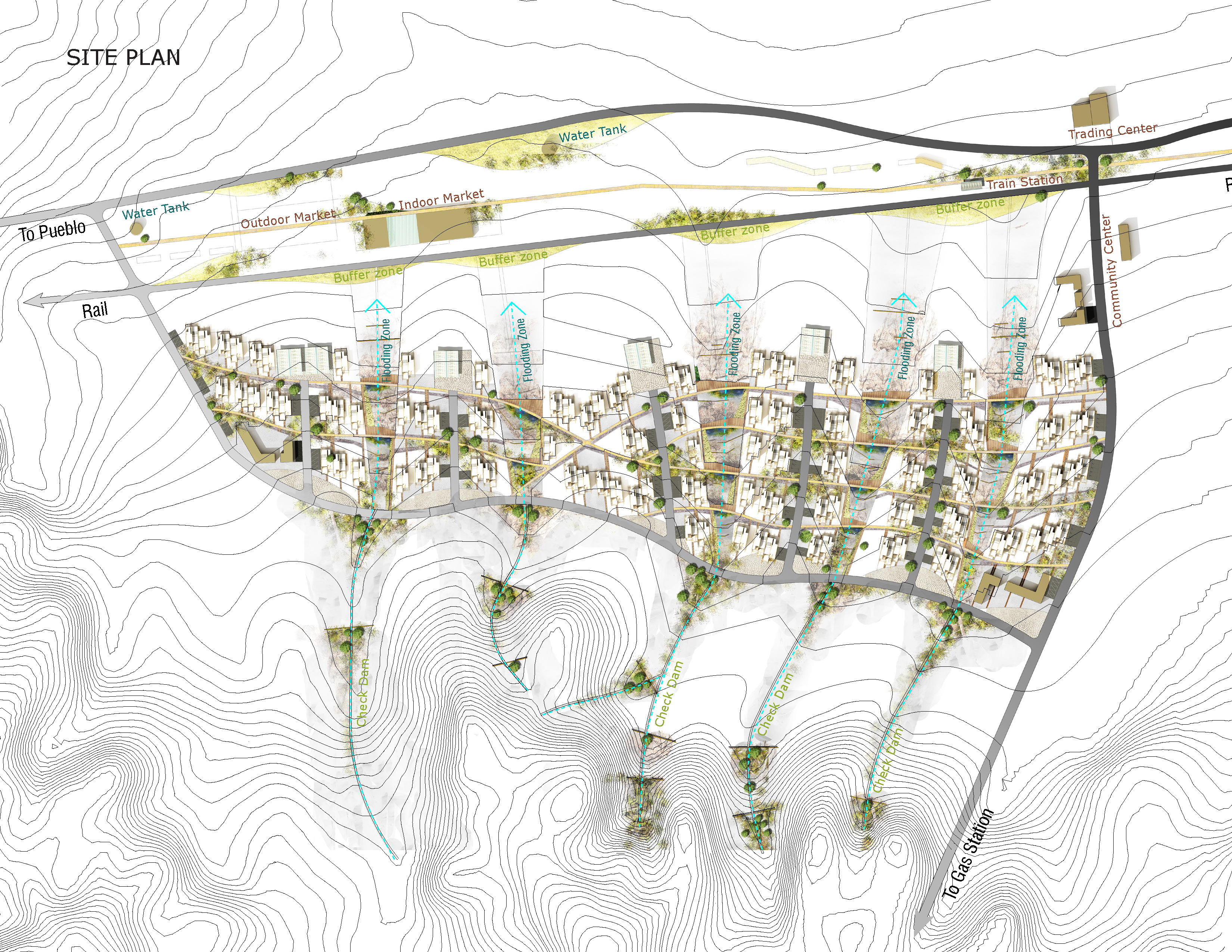 Asla 2013 Student Awards Paths Of Life Rethink The