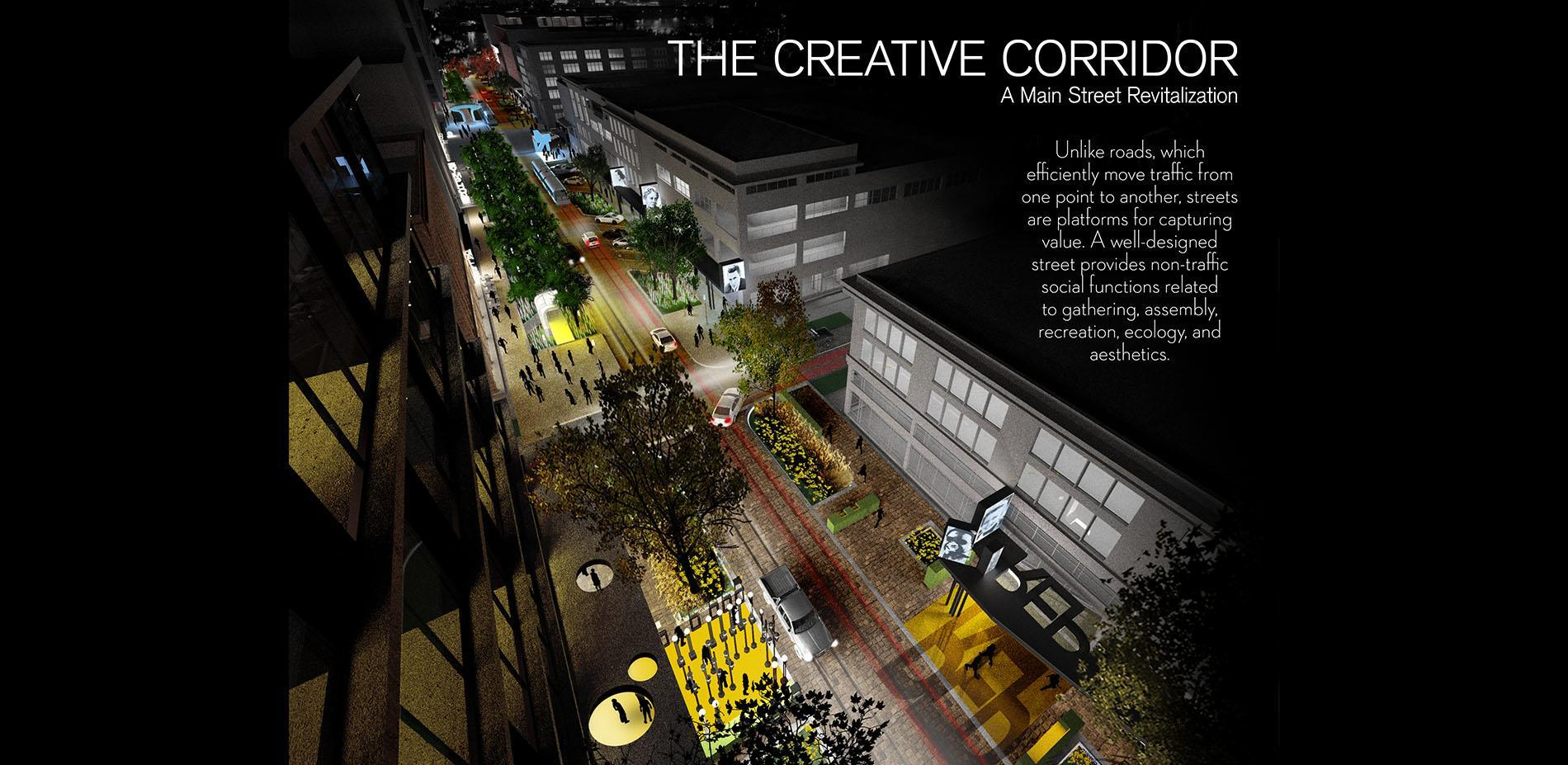 The Creative Corridor A Main Street Revitalization For Little Rock