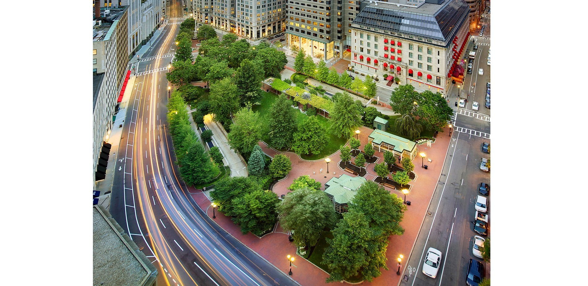 Norman B Leventhal Park At Post Office Square 2014 Asla