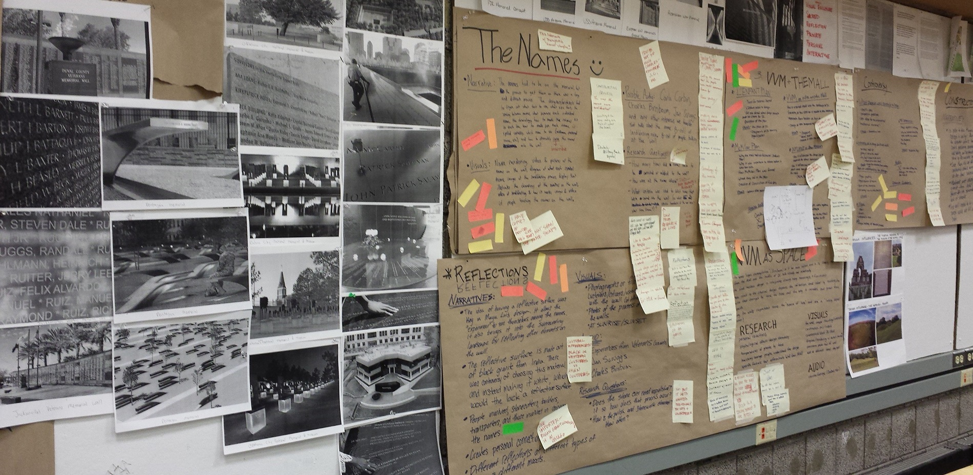 ... We Fleshed Out Topic Areas With Additional Research And Images Noting  Where Graphics Might The Vietnam Veterans Memorial History Design The  American.