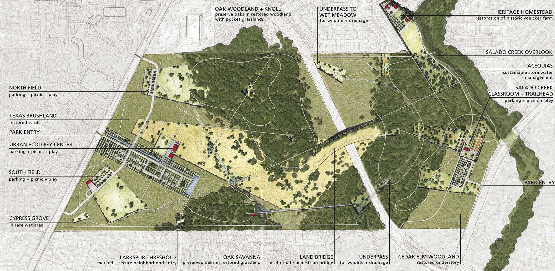 Nature Park Landscape Design