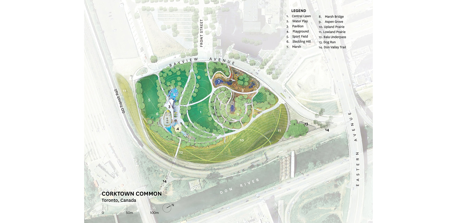 Corktown Common Flood Protection And A Neighbourhood Park