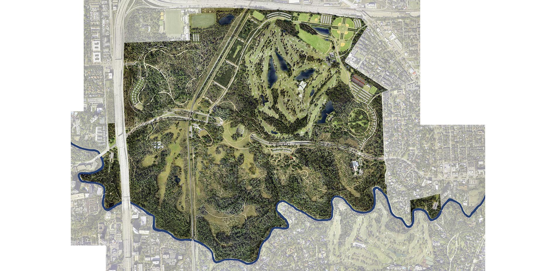 Memorial Park Master Plan 2015 2016 Asla Professional Awards