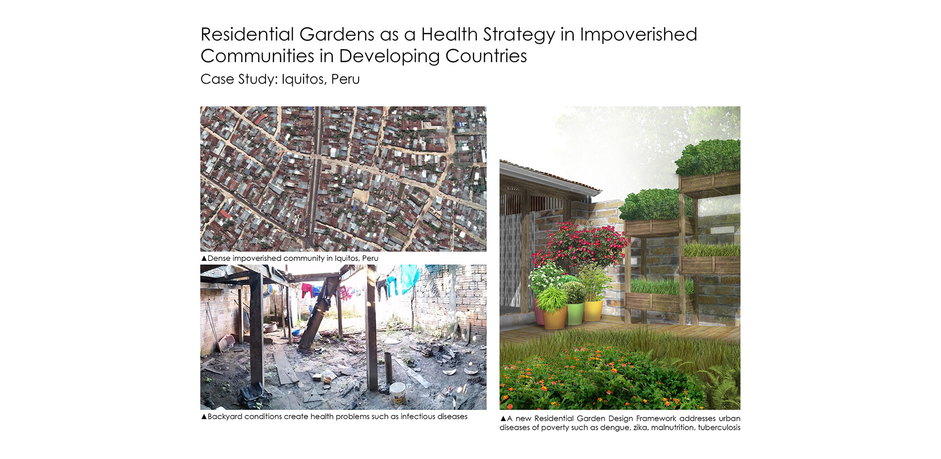 Residential Gardens As A Health Strategy In Impoverished