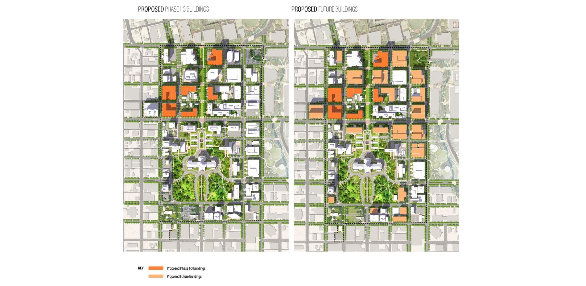Map Of Texas Capitol.Texas Capitol Complex Master Plan 2017 Asla Professional Awards