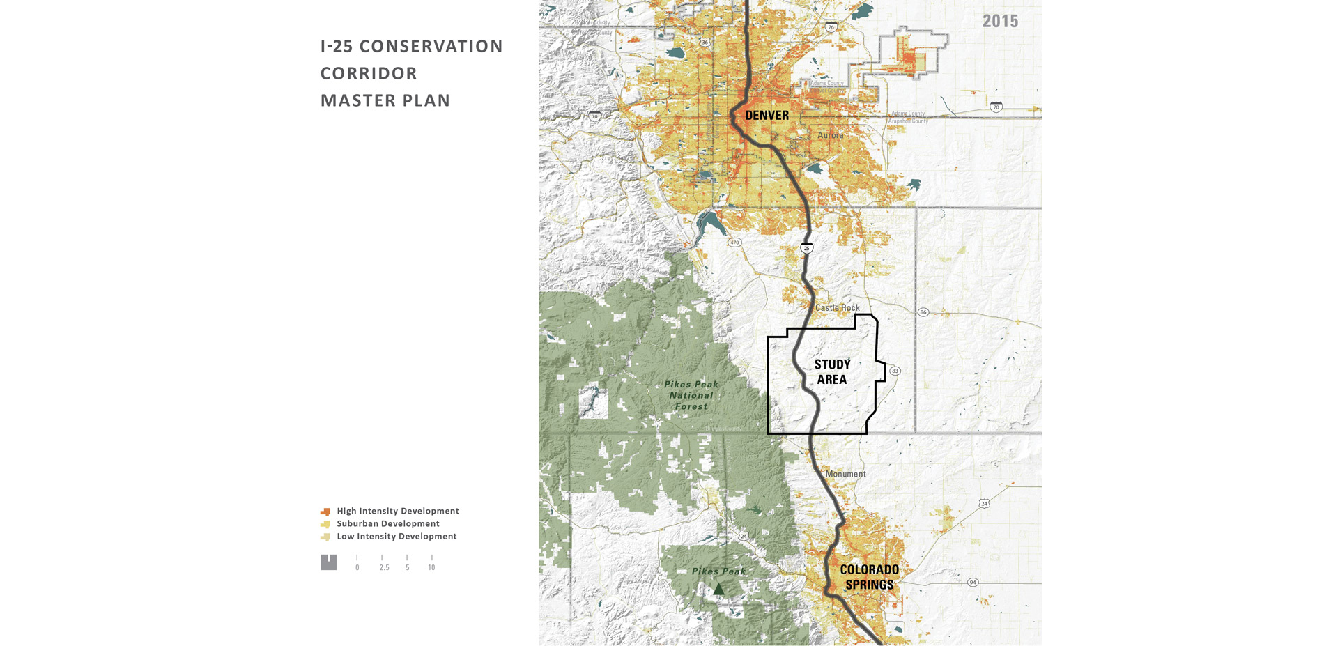 A Colorado Legacy I 25 Conservation Corridor Master Plan 2018