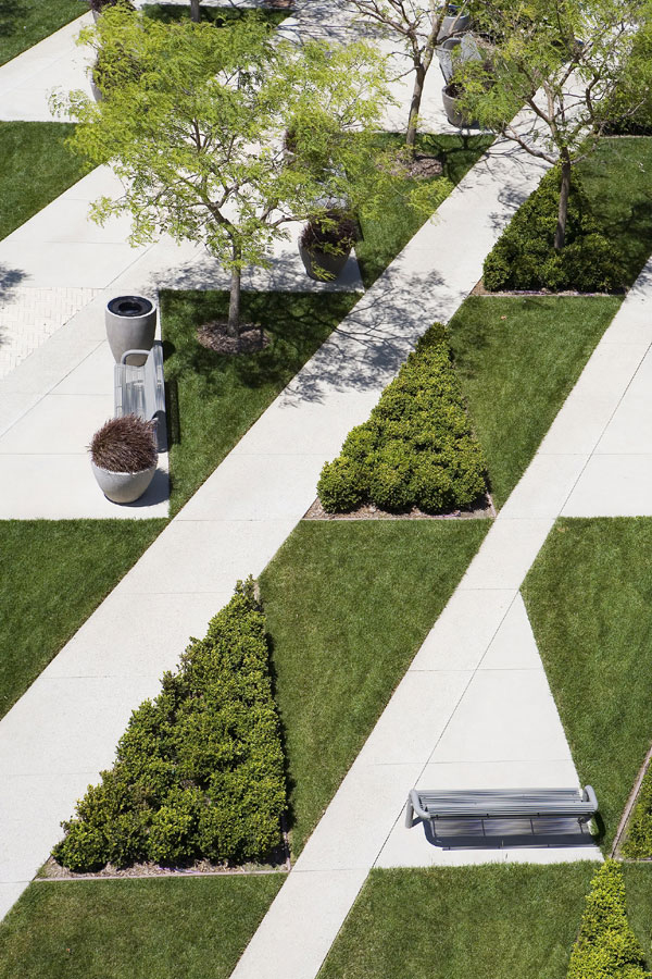 Asla 2005 professional awards for Geometric garden designs