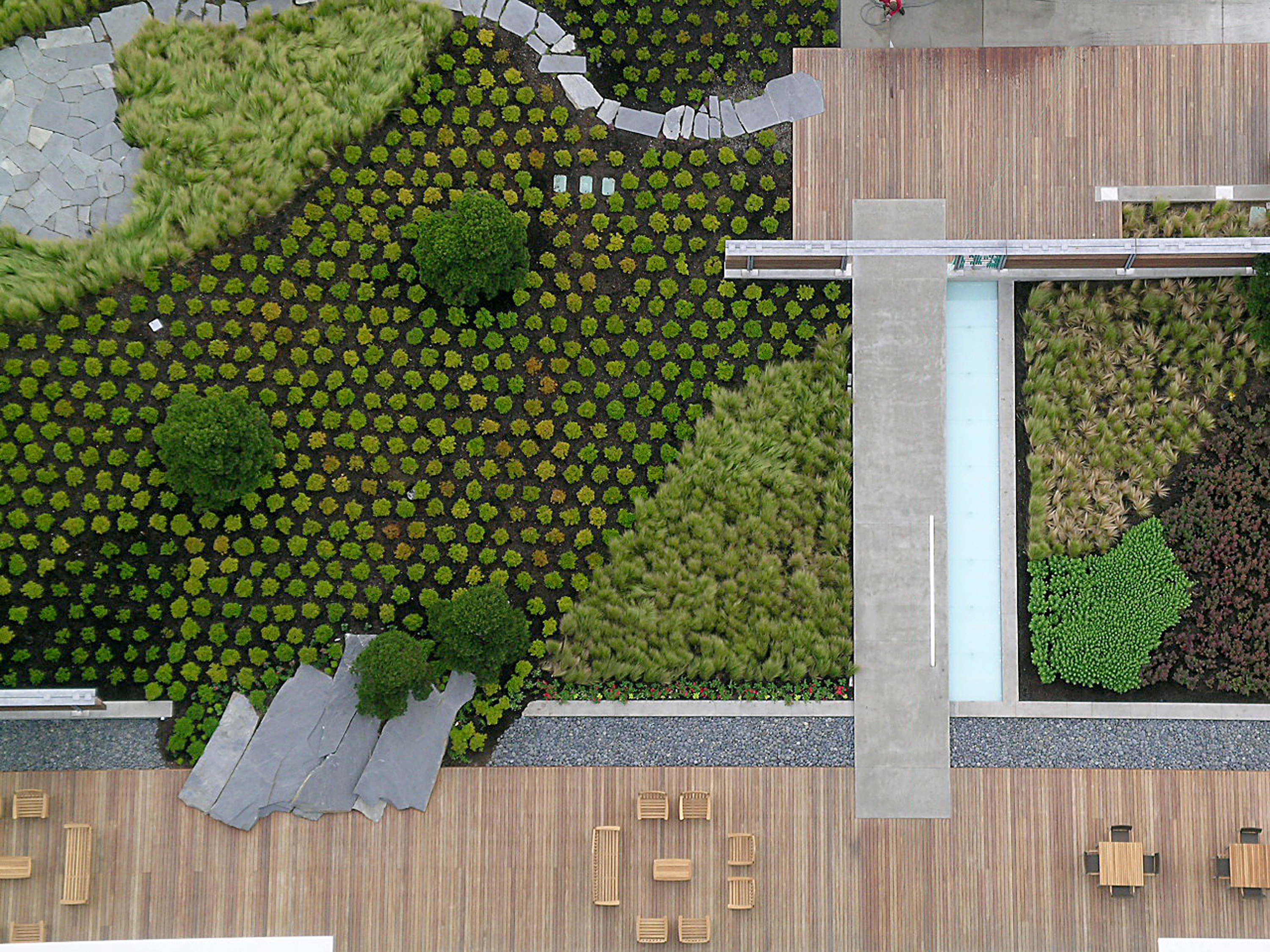 Washington Mutual Center Roof Garden Seattle Washington 2007