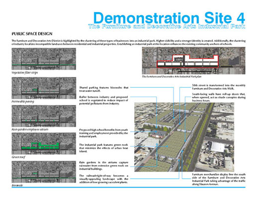 Demonstration Site 2, 3 Slauson Railroad-Right-of-Way and Bus Stop ...