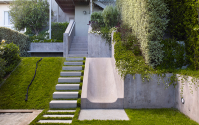 Exceptionnel Steep Slope In Your Yard? Put A Slide On It. The Landscape Architect  Sketched Out A Simple And Creative Idea For This Underutilized Space,  Designing A Play ...