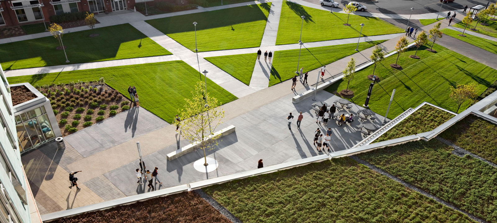 This is landscape architecture for Garden design university