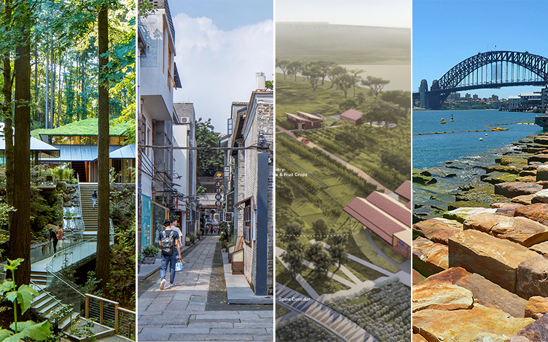 Landscape Architecture from around the world