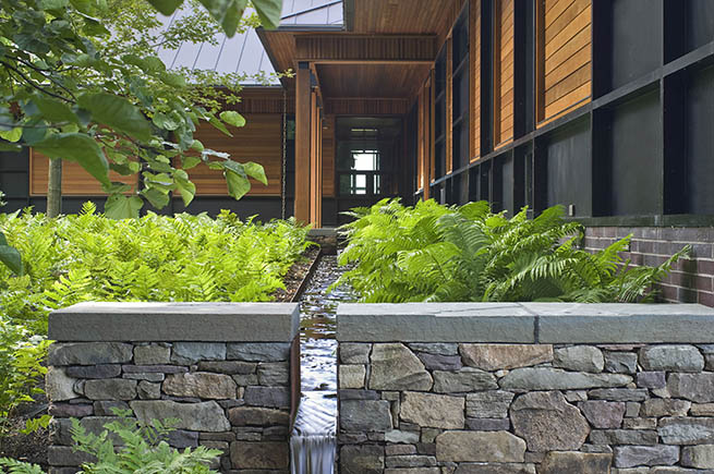 7 tips for saving water in your landscape for Residential landscape architecture
