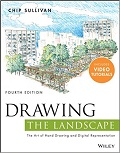Drawing the landscape cover