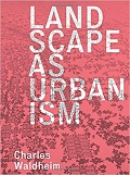 Landscape as urbanism cover