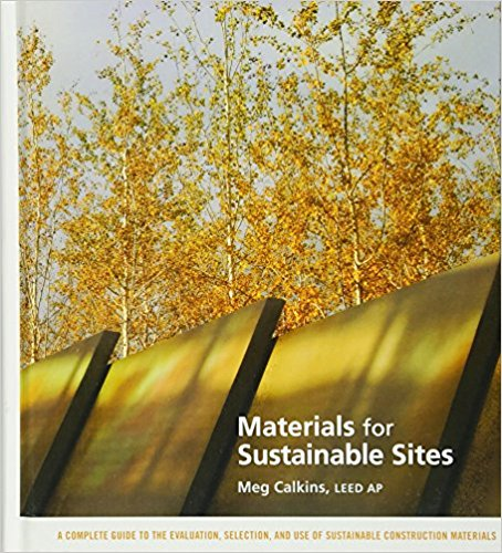 Materials for sustainable sites cover