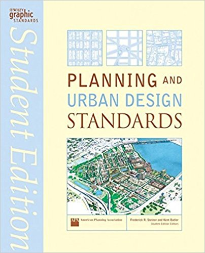 Planning and urban design standards cover