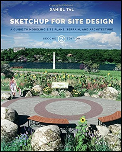 Sketchup for site design cover