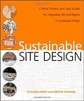 Sustainable site design : criteria, process, and case studies cover