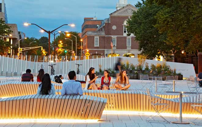 The Plaza Landscape Architects Guide To Boston