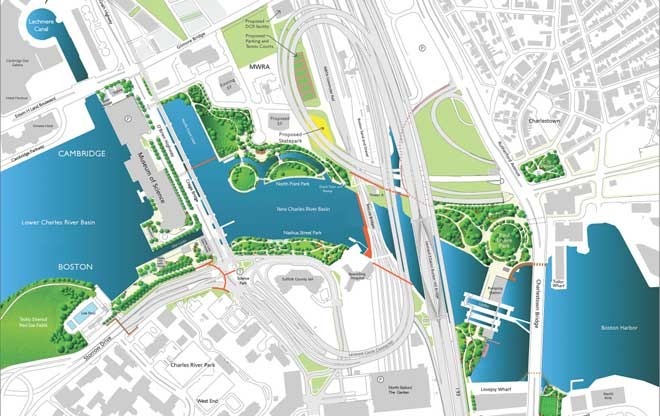The New Charles River Basin The Landscape Architect S