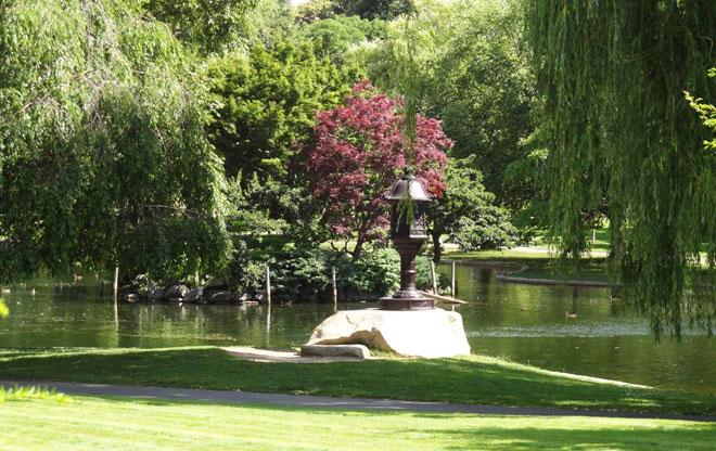 Boston Public Garden The Landscape Architect S Guide To