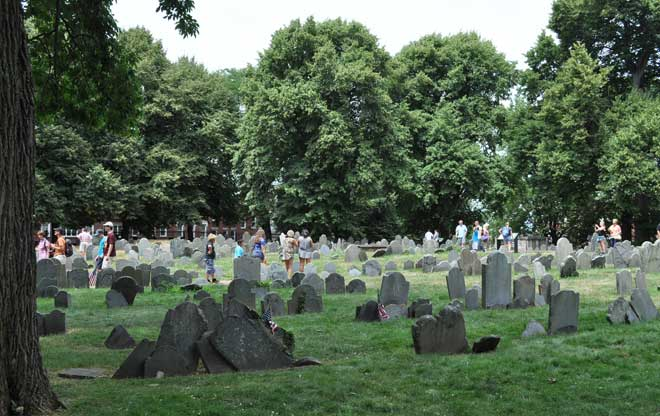 Expanse of Headstones