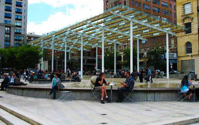 Grand Canopy & Simon and Helen Director Park | The Landscape Architectu0027s Guide to ...