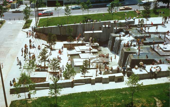 Lawrence Halprin Open Space Sequence | The Landscape Architectu2019s Guide To Portland