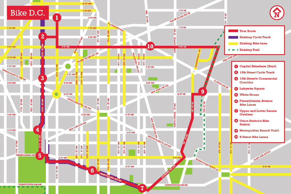 D C S Bike Network The Landscape Architect S Guide To