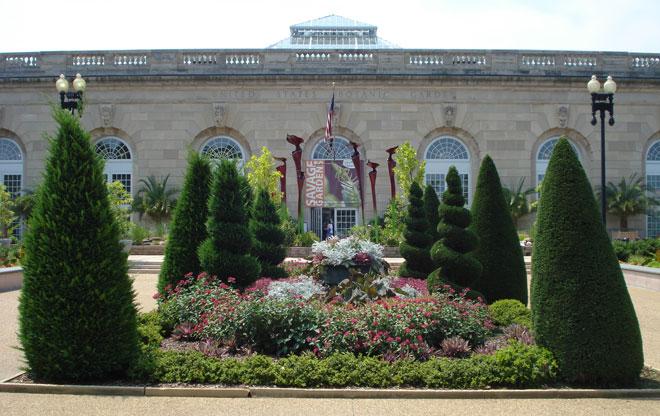 The U S Botanic Garden Bartholdi Park The Landscape Architect S Guide To Washington D C