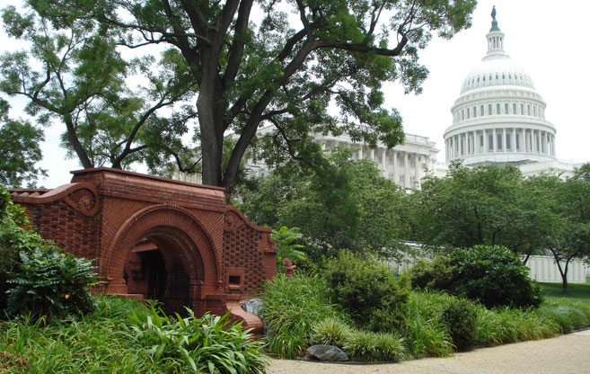 Summer House West Grounds Of The U S Capitol The