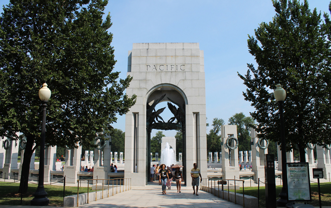 World War Ii Memorial The Landscape Architects Guide To