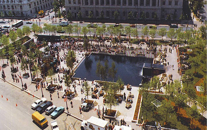 Pershing Square Park The Landscape Architect S Guide To